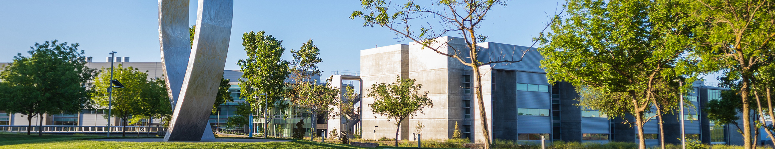 UC Merced Foundation Sculpture with Seal
